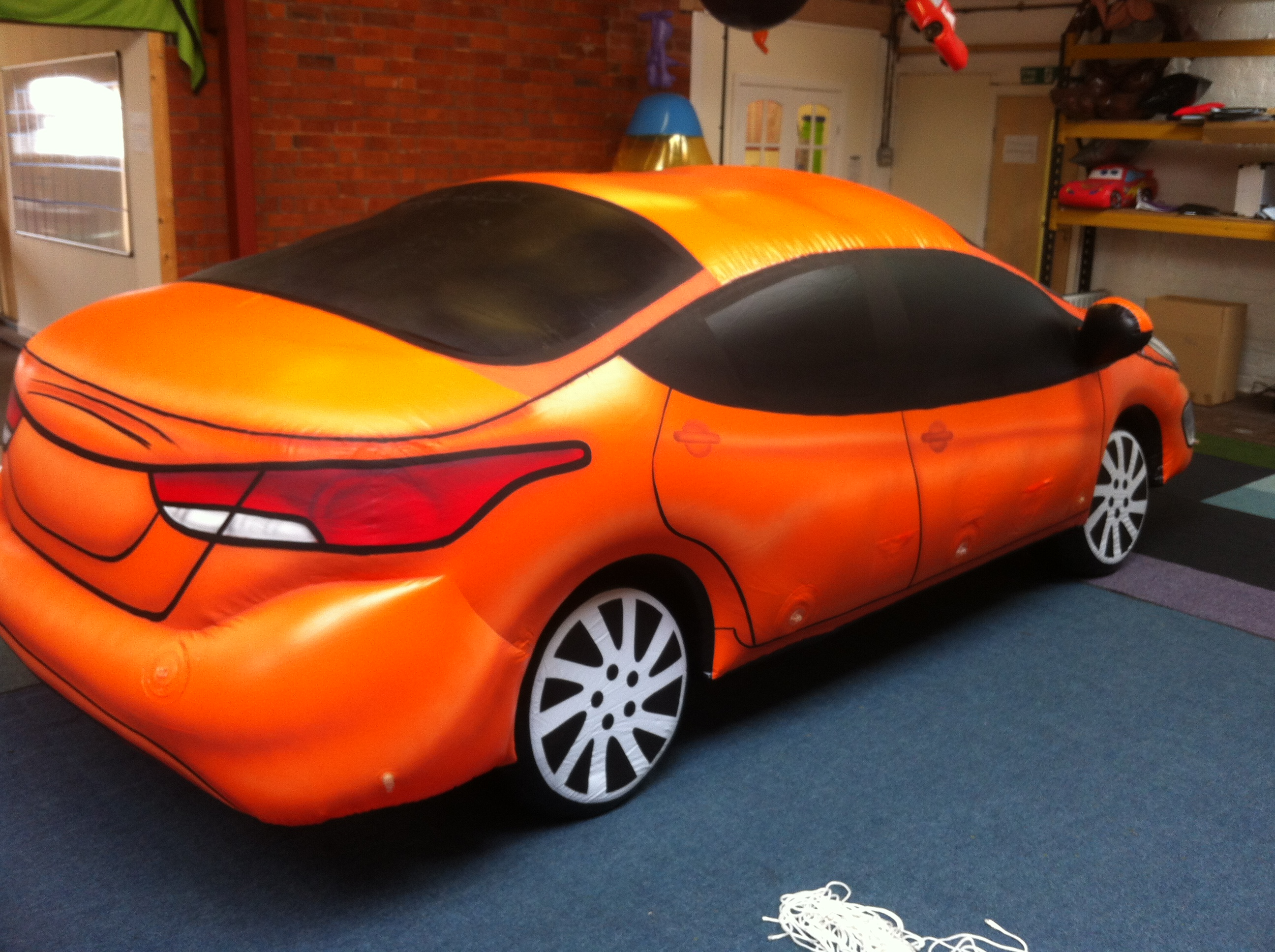 pvc hyundai elantra car inflatable full size replica for america. Black Bedroom Furniture Sets. Home Design Ideas