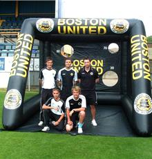 View All Inflatable Sports Shoot Out
