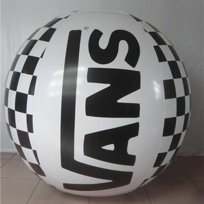 Inflatable 30cm printed Beachballs