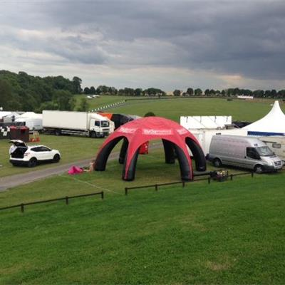 8M Wide Branded Inflatable Event Station