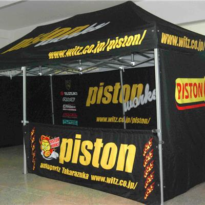 Branded Folding Tent 8x4M