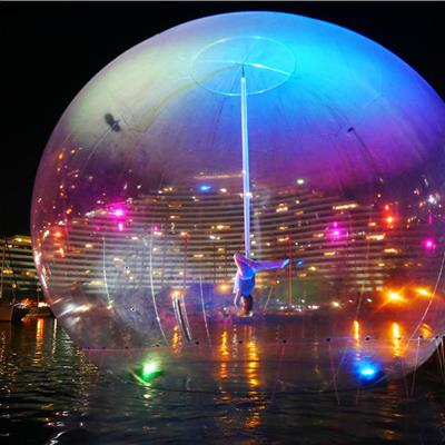 Water Based Human Interactive Sphere