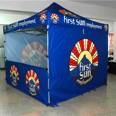 3M x 3M Branded Folding Pop Up Tent