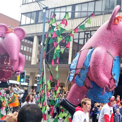 Clangers on parade