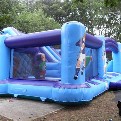 Inflatable branded play area