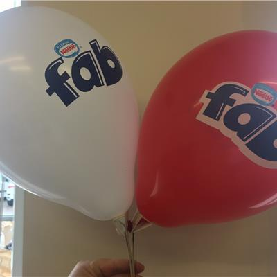 "FAB 12"" latex balloons"