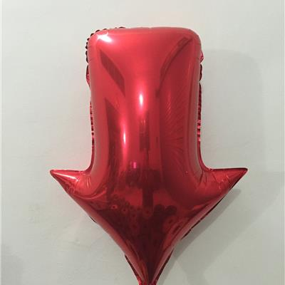 Inflatable Arrow Foil Balloon
