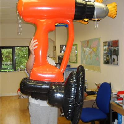 Inflatable Drill Replica