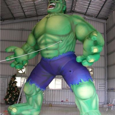 Inflatable Giant 'Incredible Hulk'