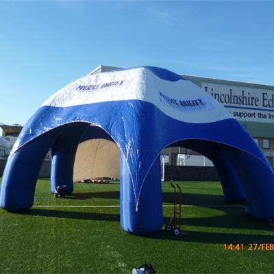 12M Wide Branded Inflatable Event Station