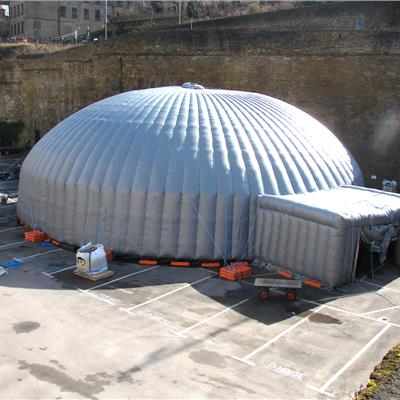Giant 10M Inflatable Dome - Ribbed Finish