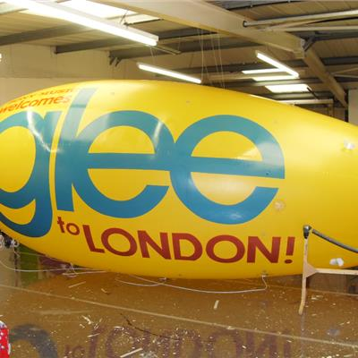 Yellow Blimp - Fully Surface Printed in-house