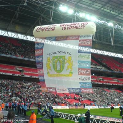 Floating Inflatable Stadium Banner