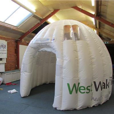 4m NHS Health check Dome