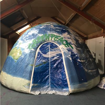 Fully printed Greenpeace dome