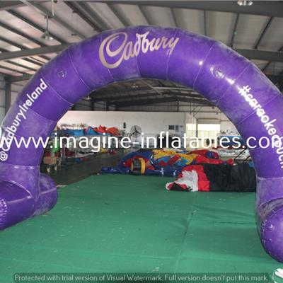 sealed tarpaulin arch