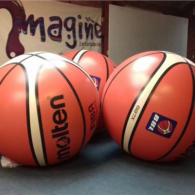 3m fully printed basketball spheres