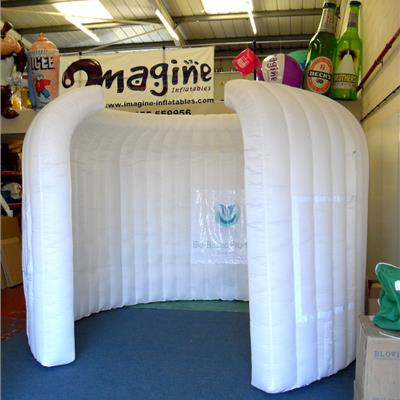 4M Inflatable Pod - with branding on banners