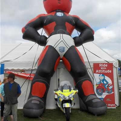 Giant 30ft Inflatable Biker