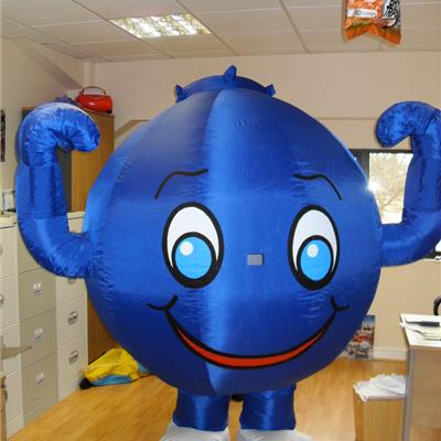 Inflatable Blueberry
