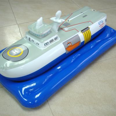 Inflatable PVC Boat Replica