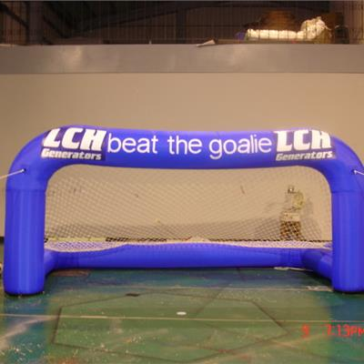 Branded Inflatable Football Goal Posts