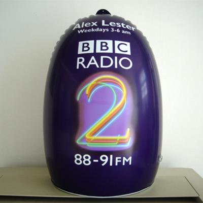 Inflatable Advertsing Shape for BBC