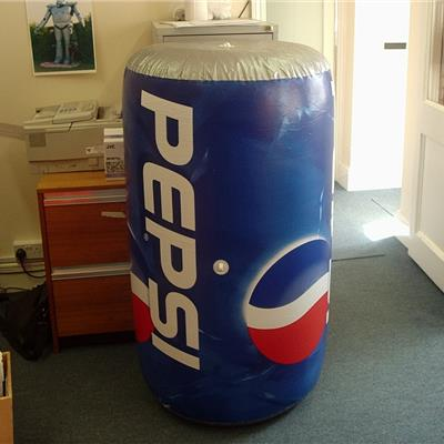 1.2M High Inflatable Pepsi Can