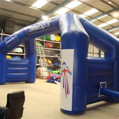 Double Leg Sports Inflatable Arch
