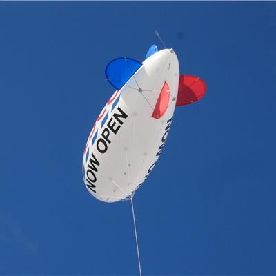 Tesco Blimp Flying