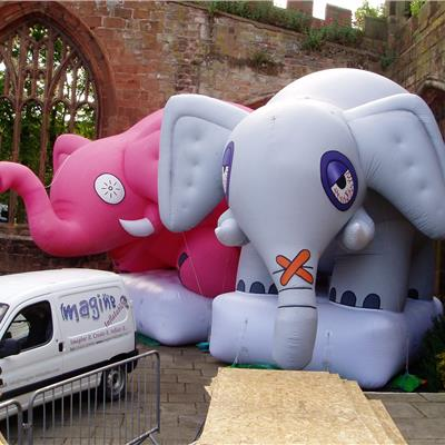 Inflatable Elephants
