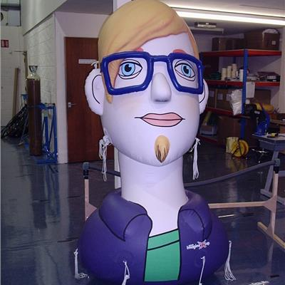 Inflatable head/character