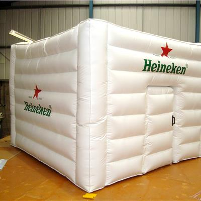 Heineken Inflatable Cube Building.