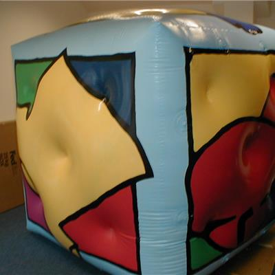 Branded Inflatable Cubes