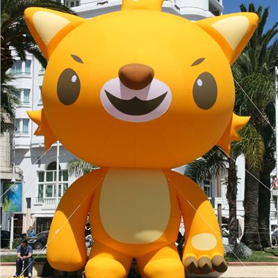 'Cannes Film Festival' Inflatable Lion mascot.