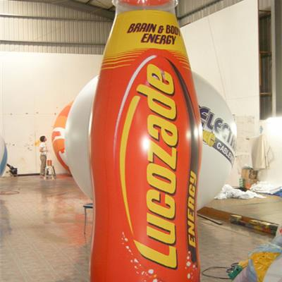 Inflatable Lucozade Bottle