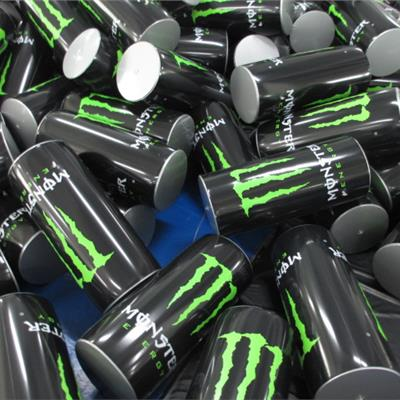 Small Inflatable Drinks Can 'Monster' Cans