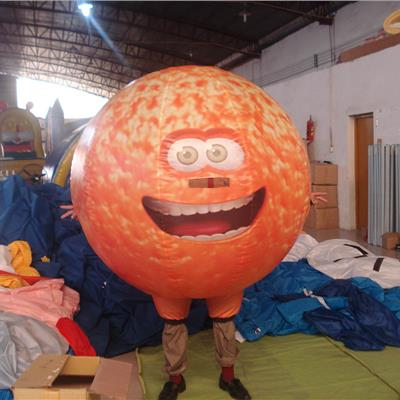 Inflatable Orange Character