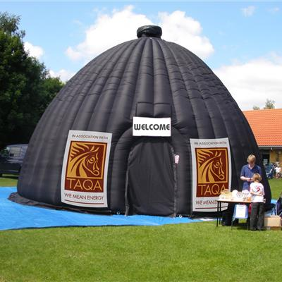 Inflatable Projection Dome