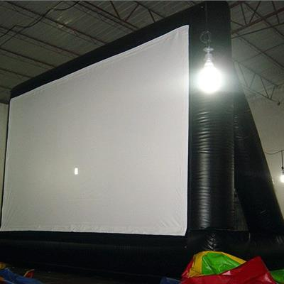 Giant inflatable cinema screen