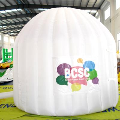 2.5M Inflatable enclosed Room/Pod for indoor use.