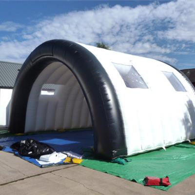 Inflatable Tunnel Building