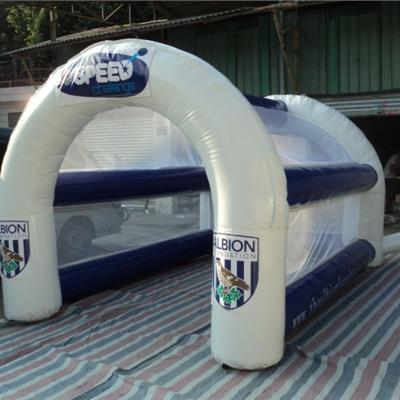 Inflatable Branded Speed Cage for Sports Games