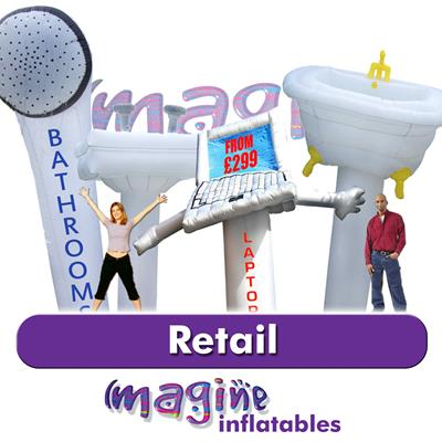 Inflatable Sky Guys for the Retail market