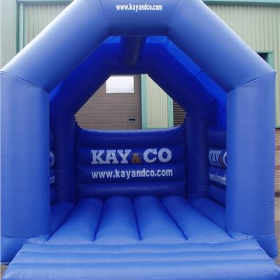 inflatable standard frame branded bouncy castle