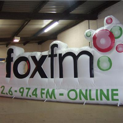 Bespoke designed shoot out for Fox FM