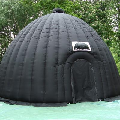 Inflatable Projection Buidling