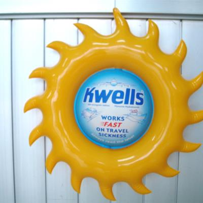 Inflatable Branded Sun Shape