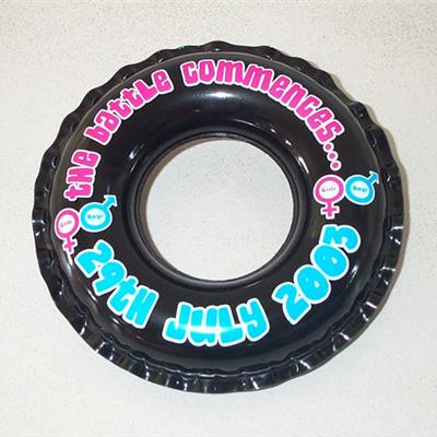 Inflatable Swim Rings - fully branded
