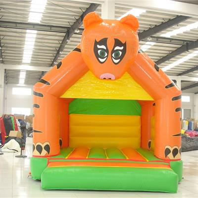 Childrens inflatable Tiger bouncer